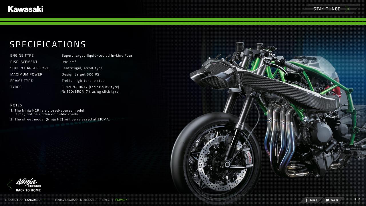 T E O R O S S Digital Creative Designer Kawasaki H2