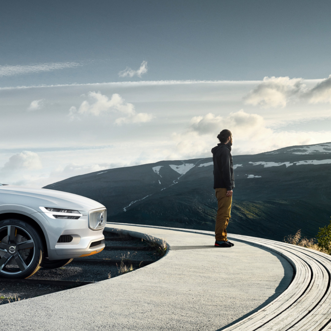 Volvo Cars - About page concept